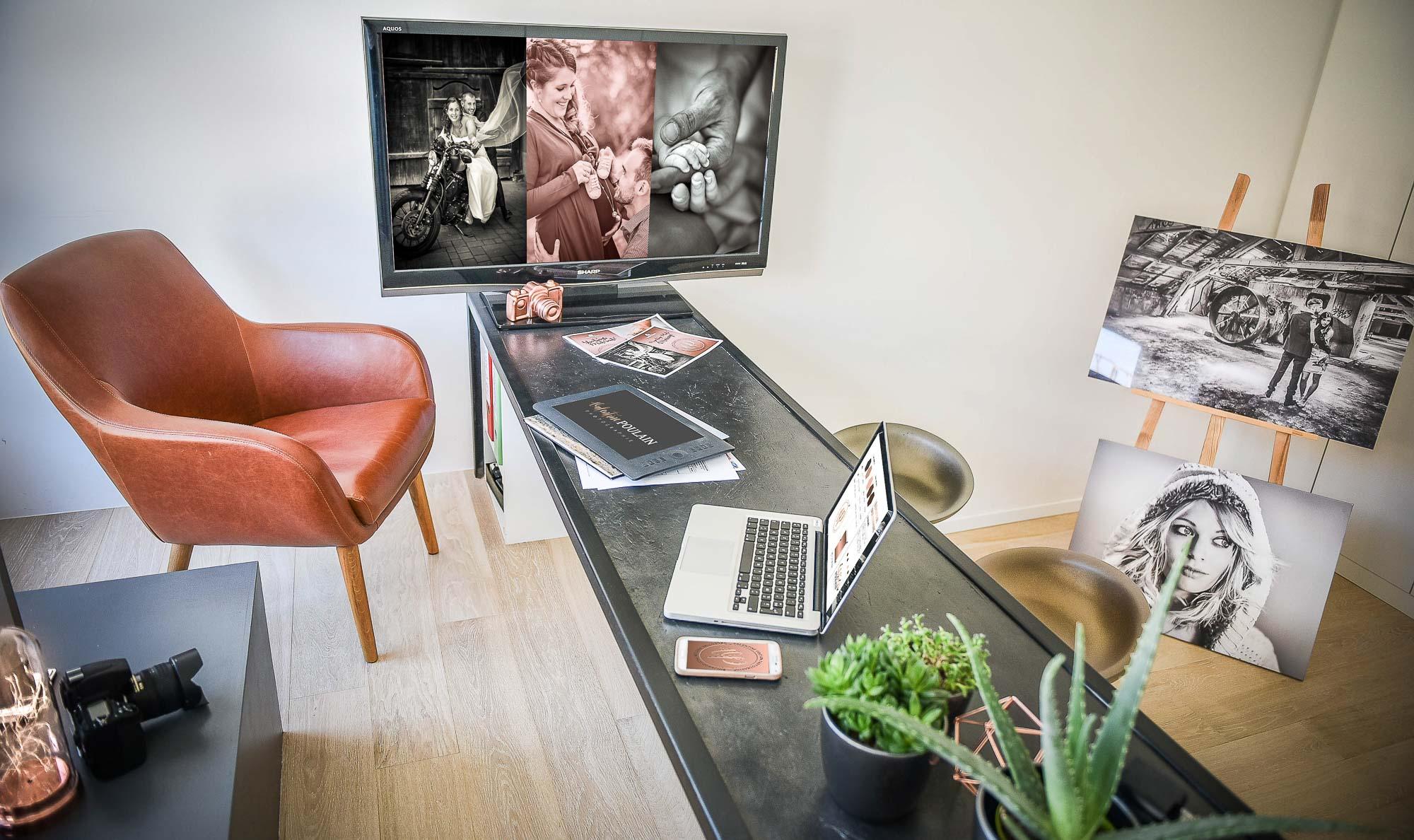 Bureau loft - Valentine Poulain
