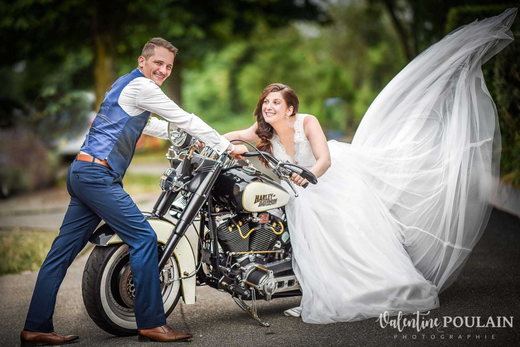 Couple mariage Harley - Valentine Ppoulain