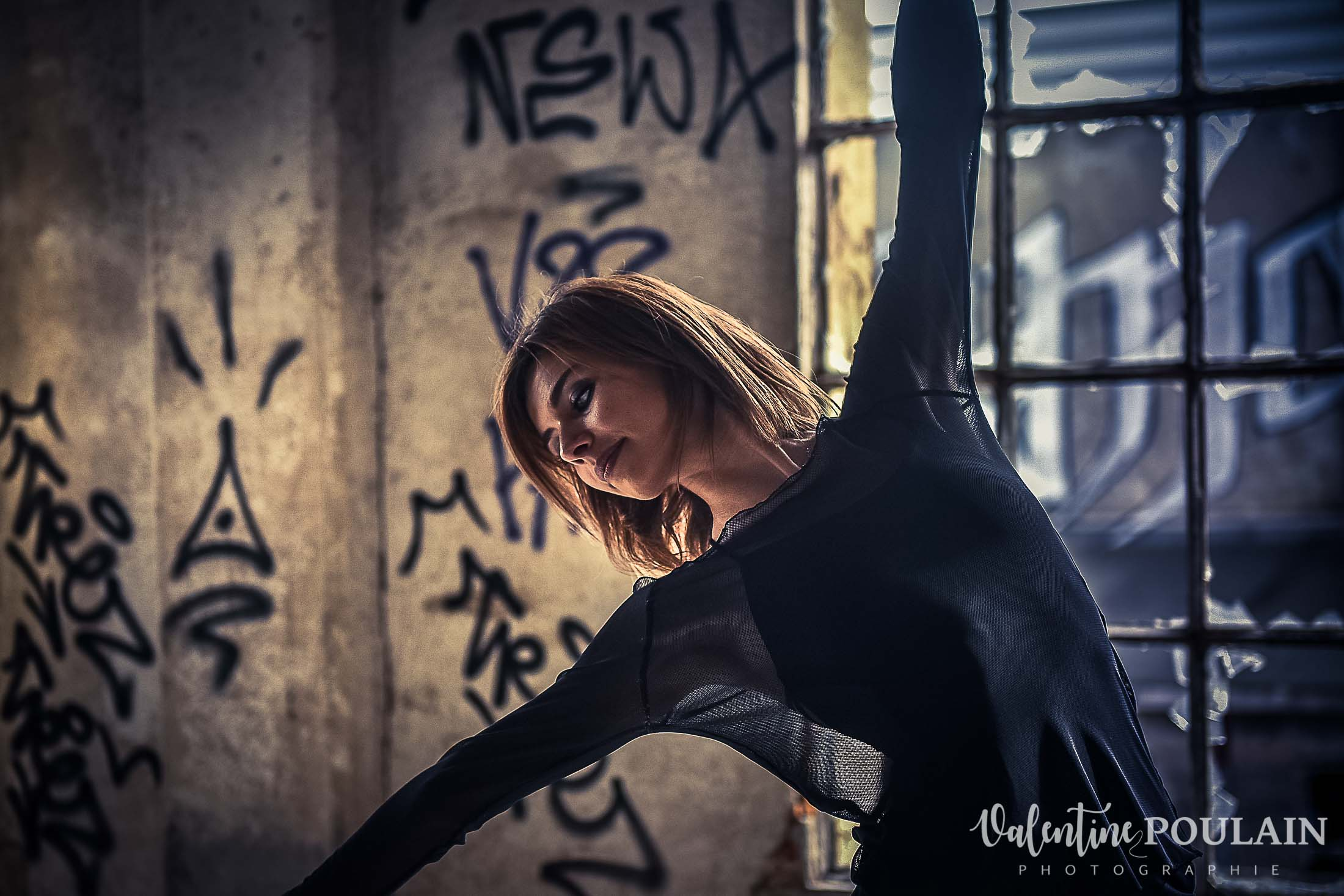 Shooting danseuse portrait