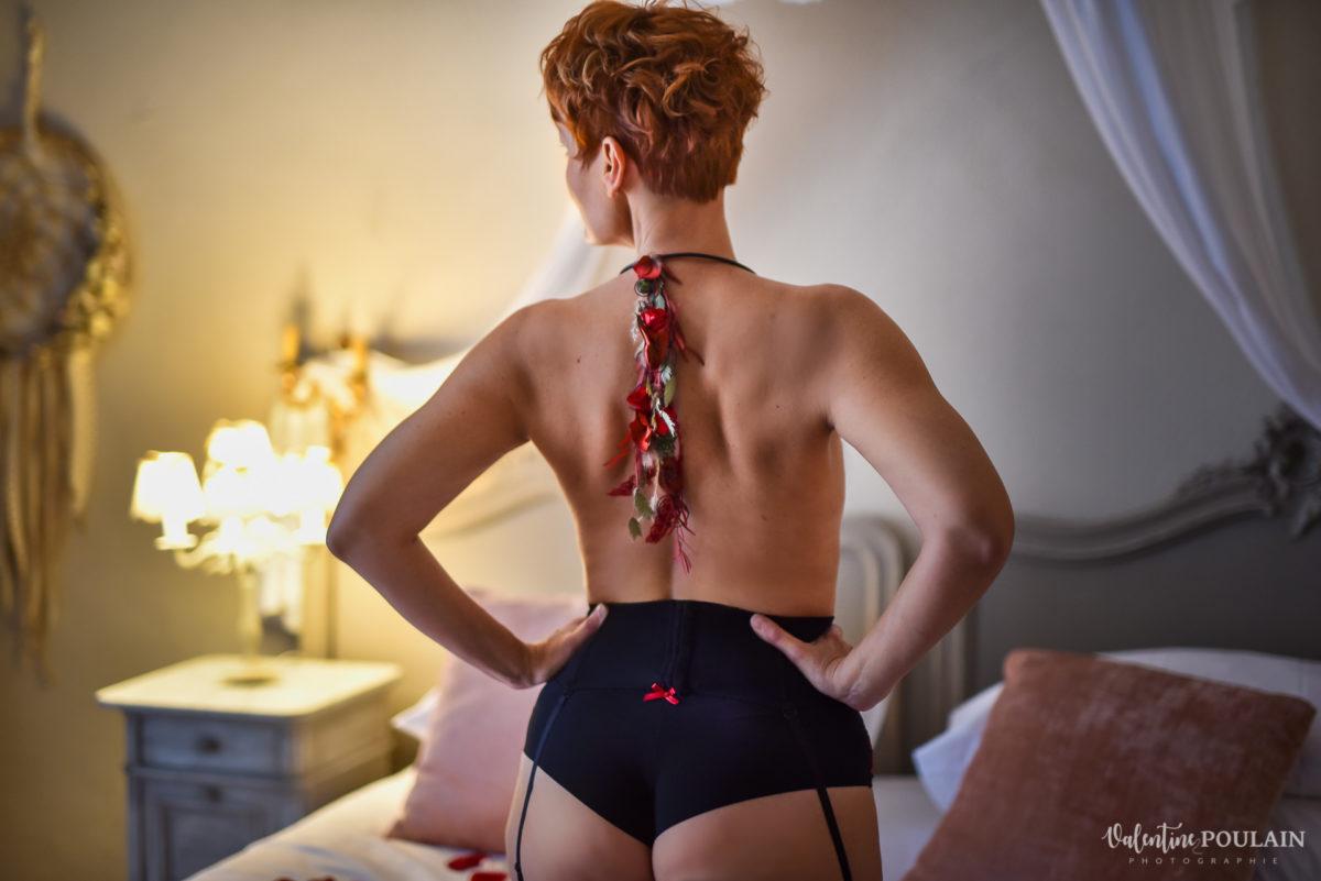 Dos nu boudoir - Valentine Poulain