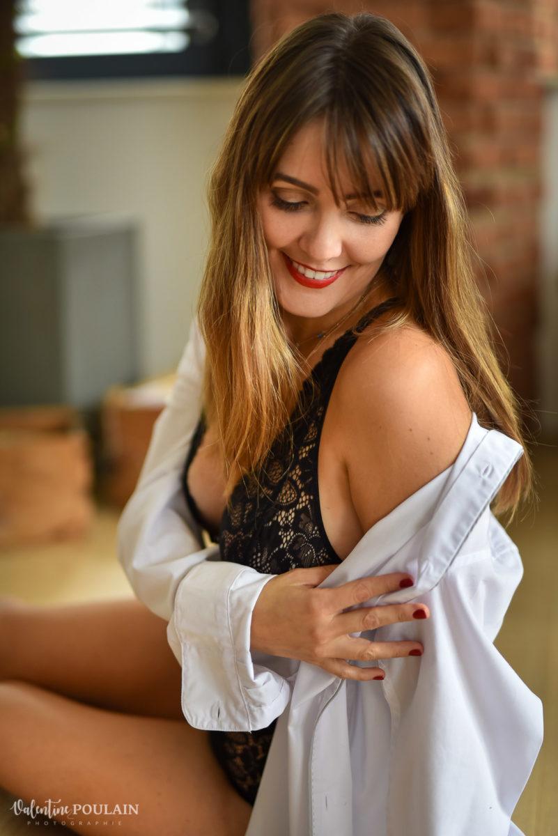 boudoir chemise - Valentine Poulain