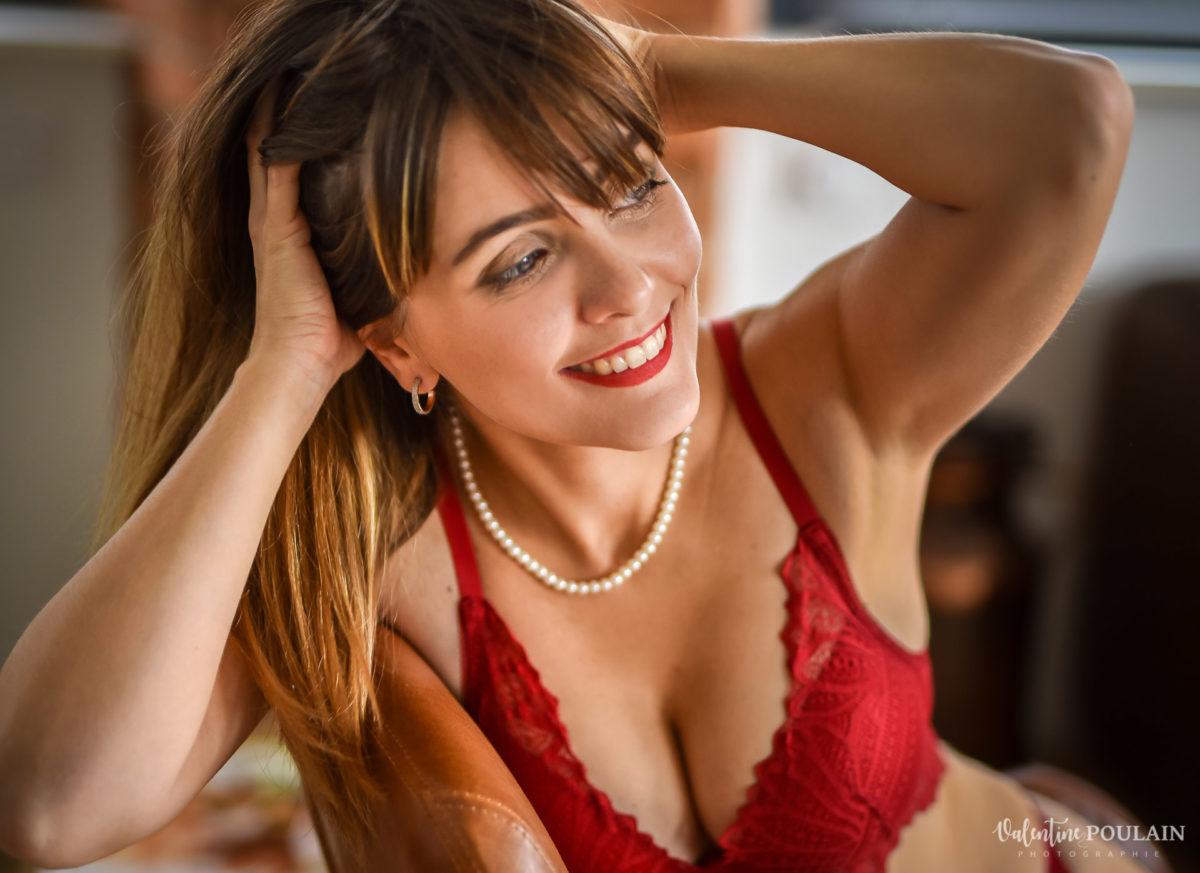 boudoir rouge - Valentine Poulain