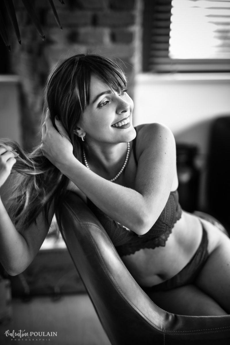 boudoir sourire - Valentine Poulain