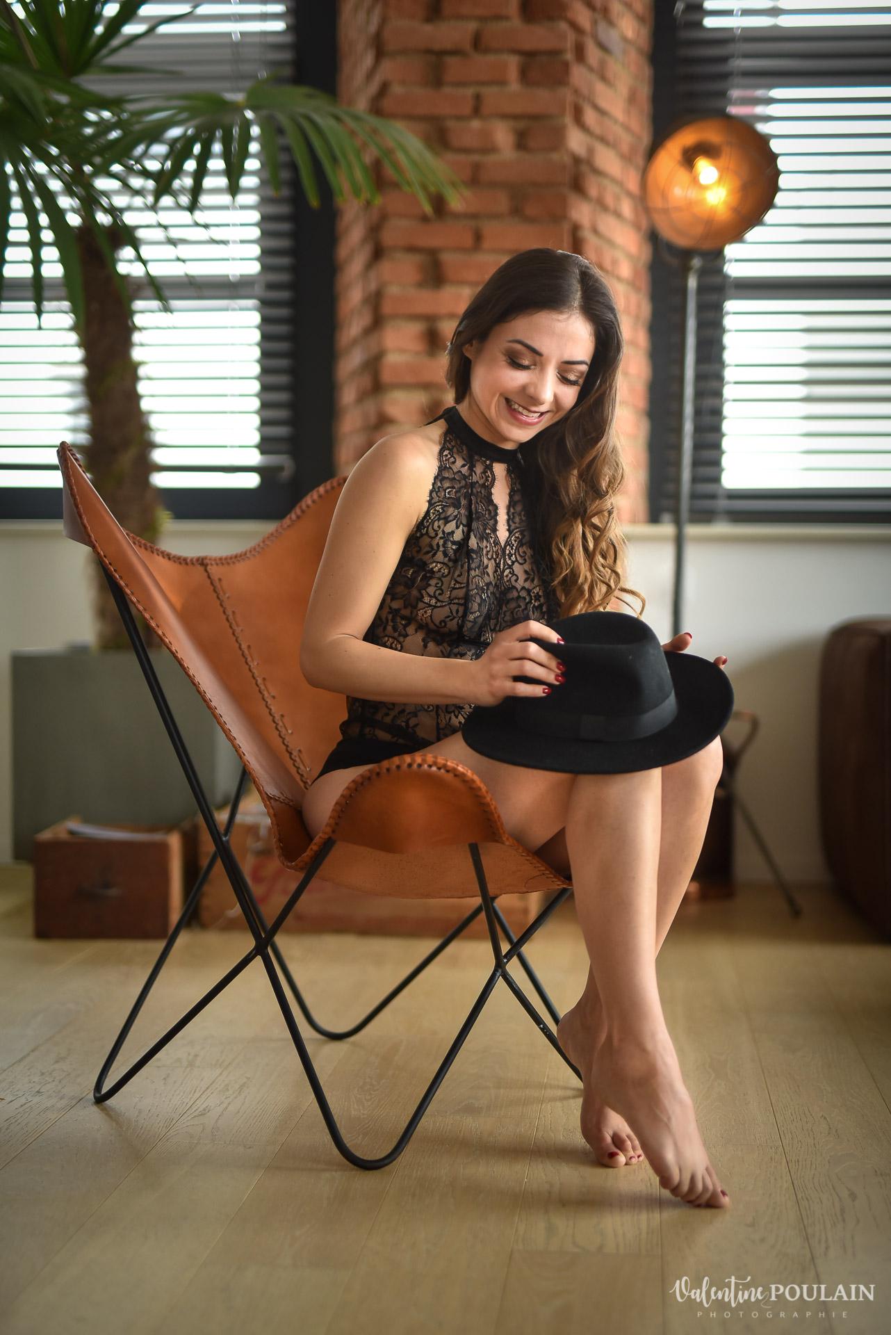 chaise boudoir Valentine Poulain