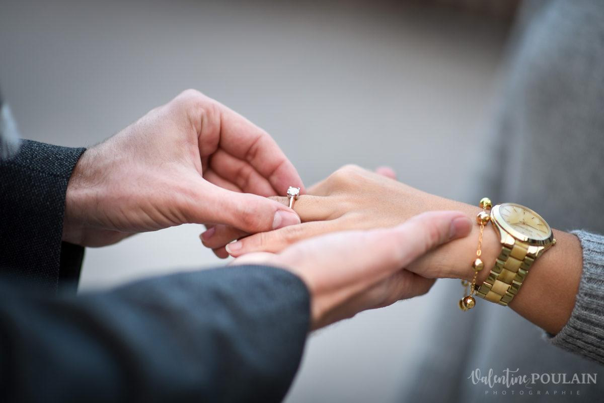 Demande en mariage Colmar - Valentine Poulain bagues