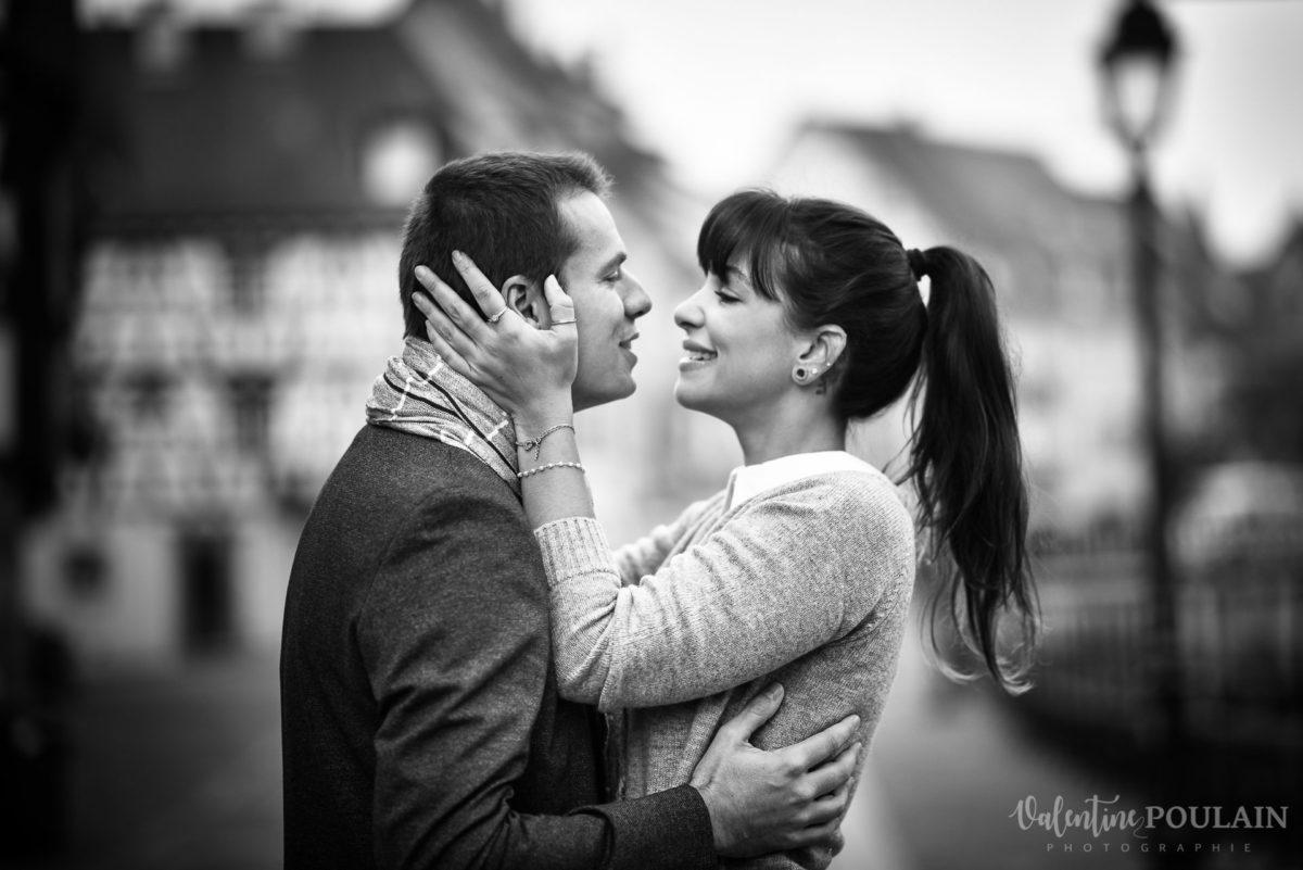 Demande en mariage Colmar - Valentine Poulain OUI