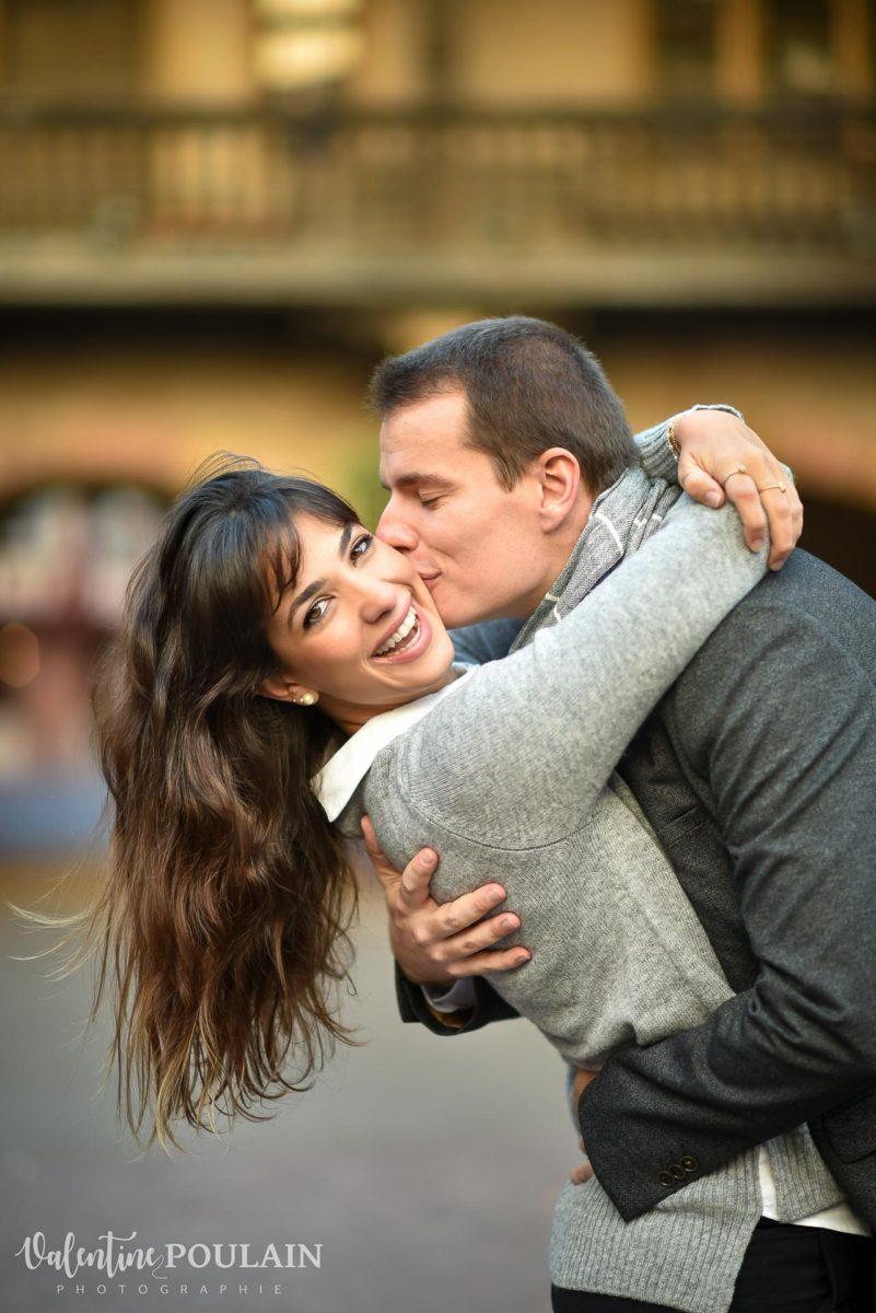 Demande en mariage Colmar - Valentine Poulain YES
