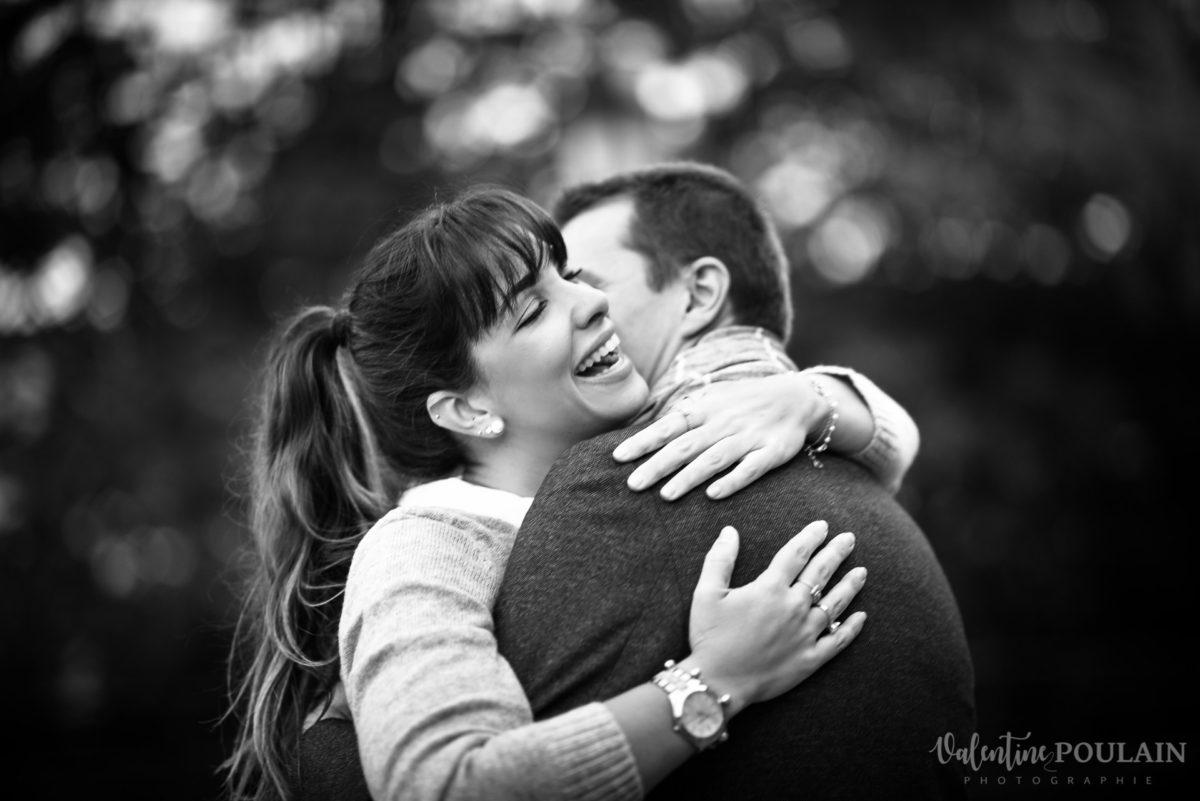 Demande en mariage Colmar - Valentine Poulain joie