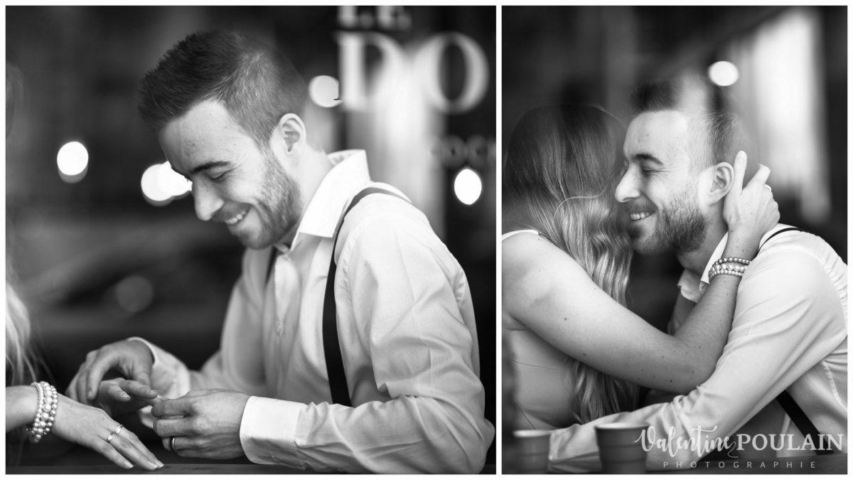 Demande mariage bar Camille&Julien