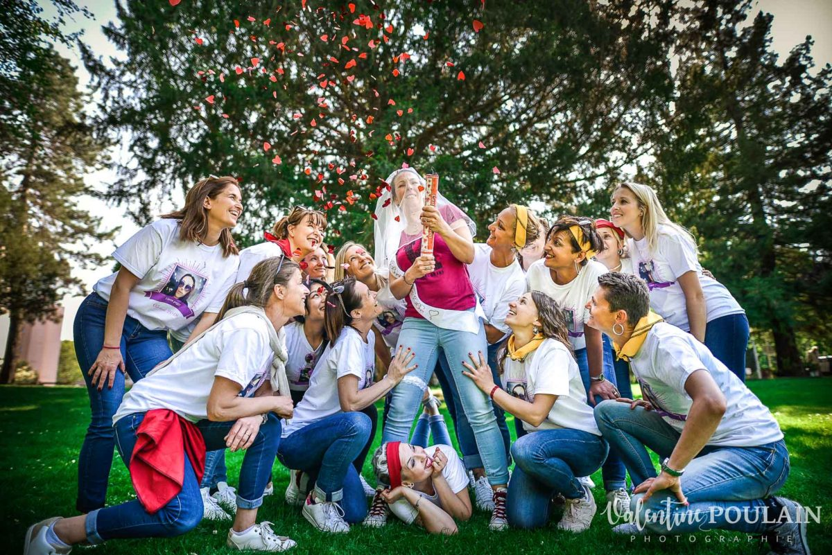 EVJF girls confettis - Valentine Poulain