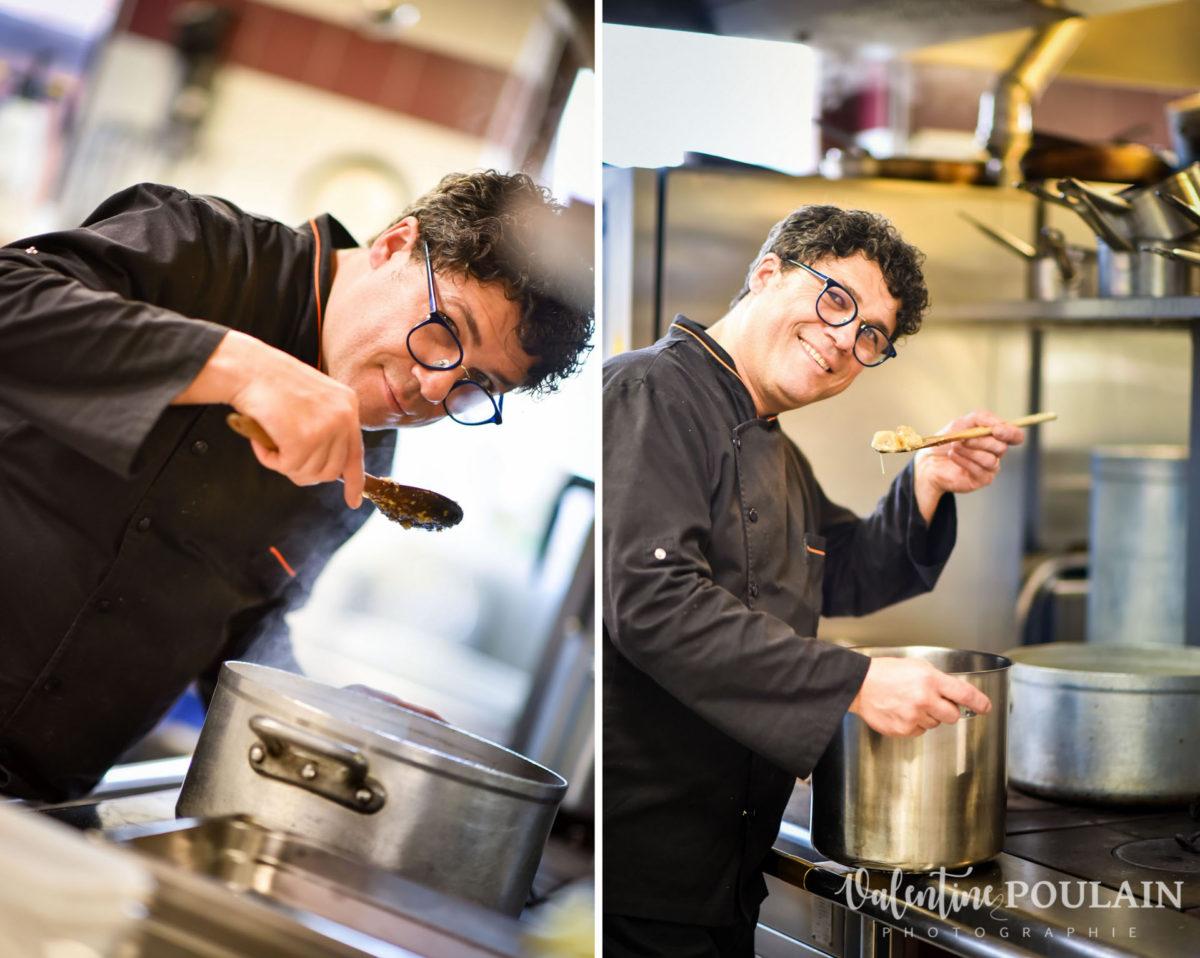 Shooting corporate La Palette Valentine Poulain cuisine