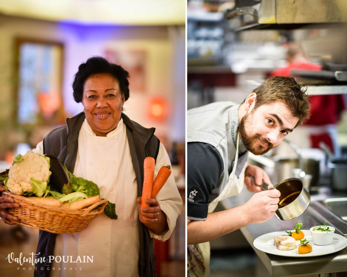 Shooting corporate La Palette Valentine Poulain cuisiner