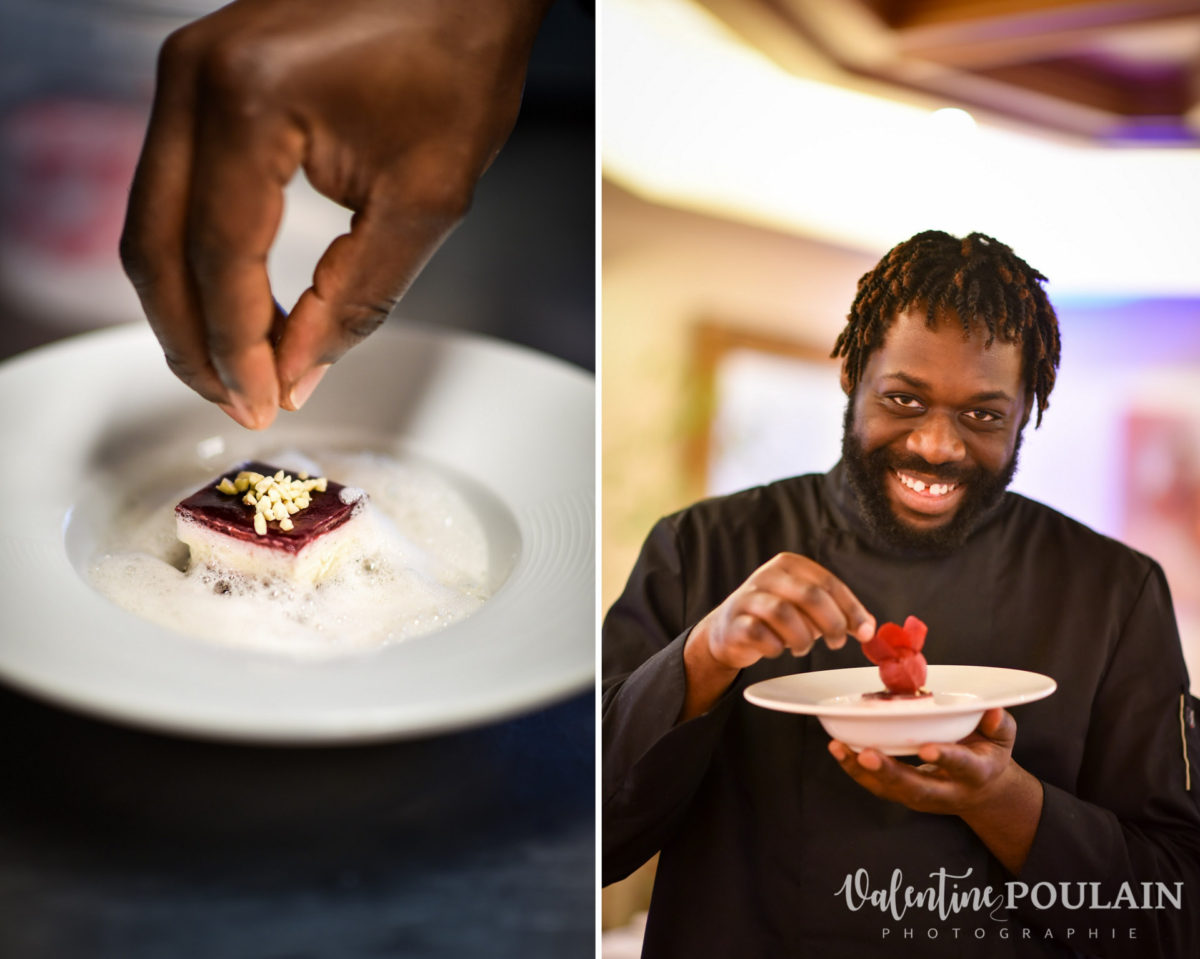 Shooting corporate La Palette Valentine Poulain pâtissier