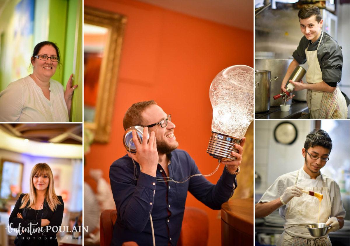 Shooting corporate La Palette Valentine Poulain portraits