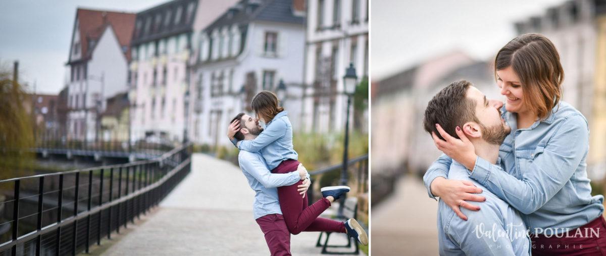 Shooting couple jeux enfants Colmar - Valentine-Poulain jeu
