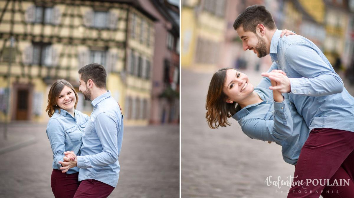 Shooting couple jeux enfants Colmar - Valentine-Poulain valse
