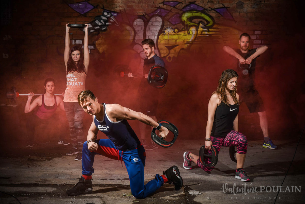 Shooting sport Mathieu coach crossfit circuit training