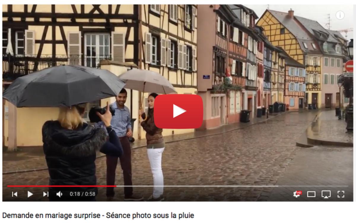 Voir video Shooting demande mariage - Valentine Poulain Photographie