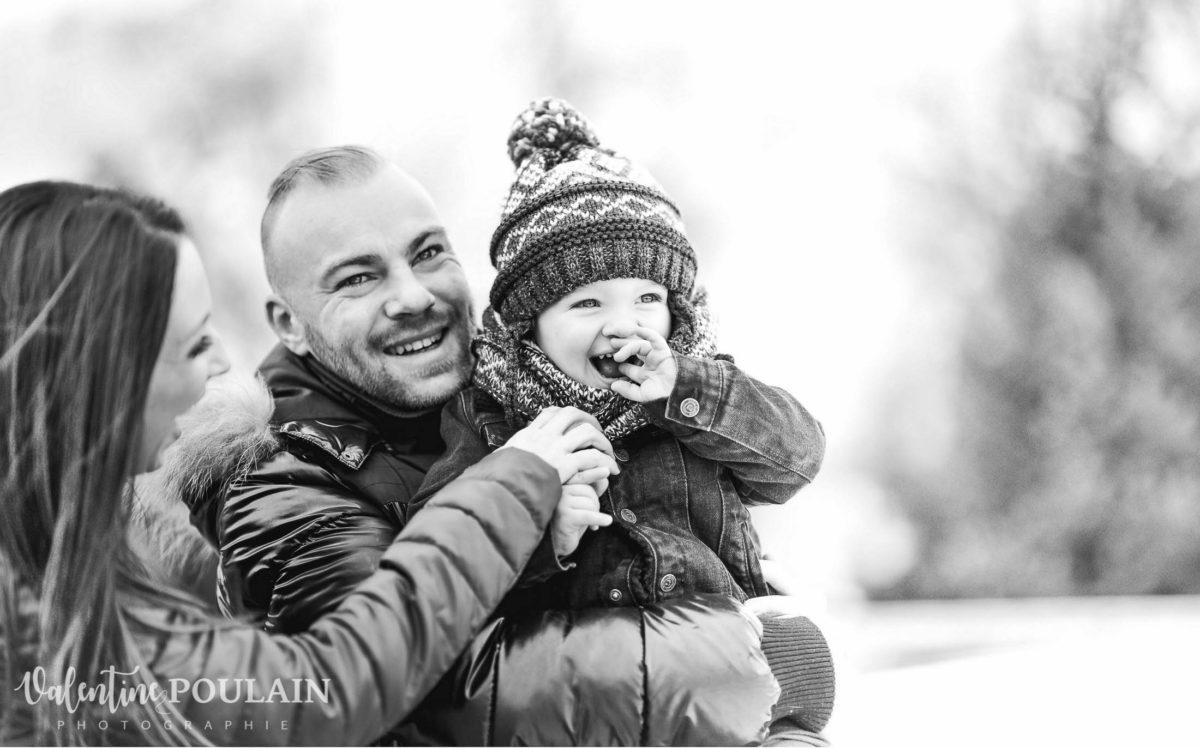 Photo fou-rire - Valentine Poulain bébé