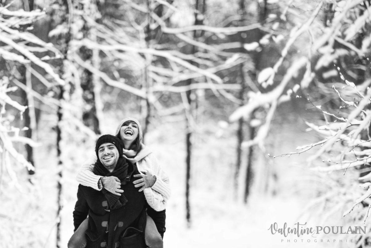 Photo fou-rire - Valentine Poulain couple