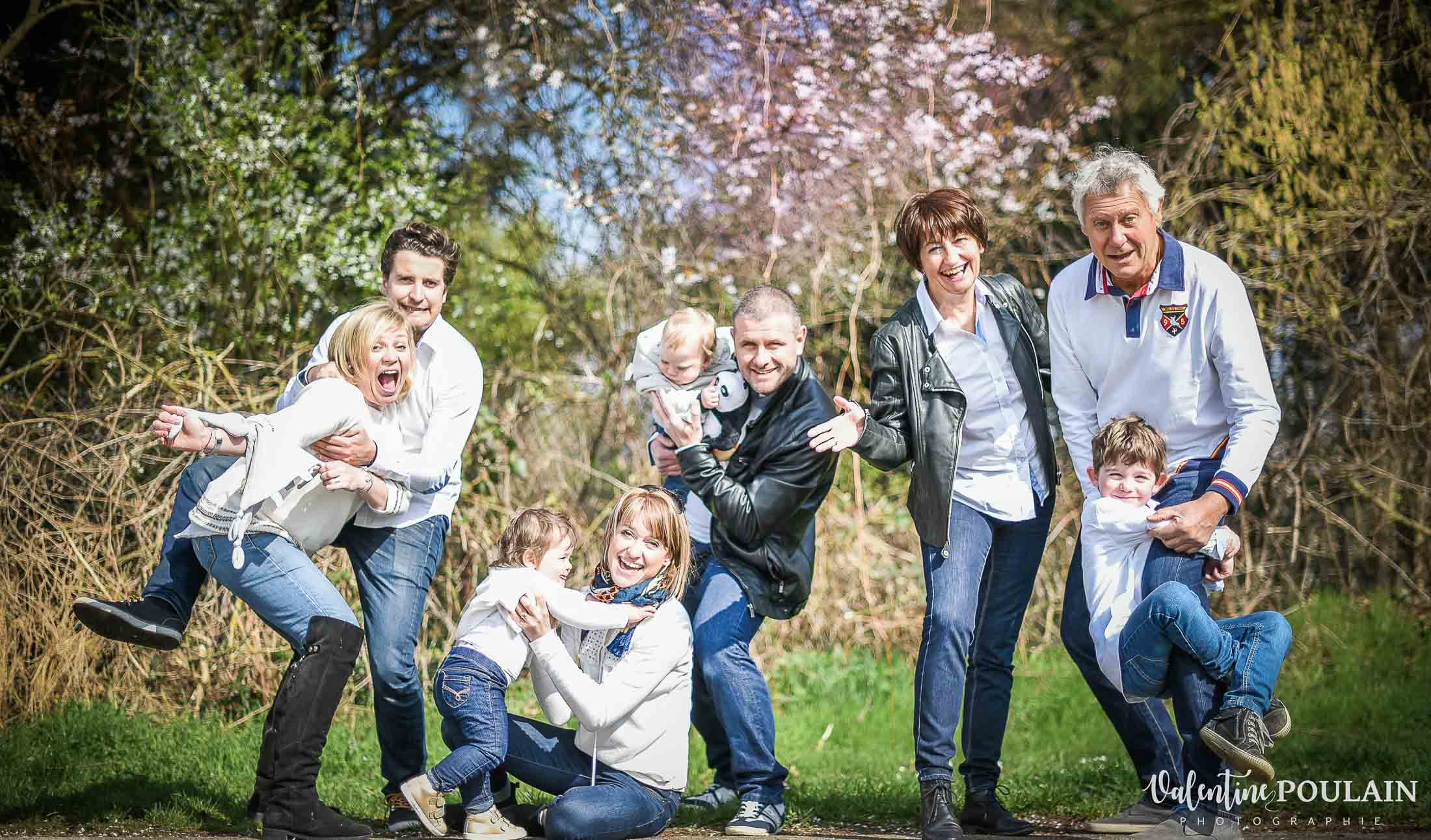 Photo fou-rire - Valentine Poulain famille