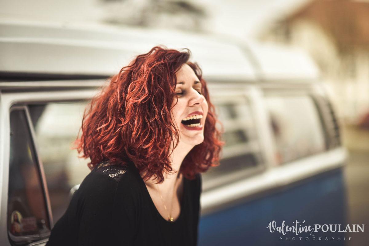 Photo fou-rire - Valentine Poulain femme
