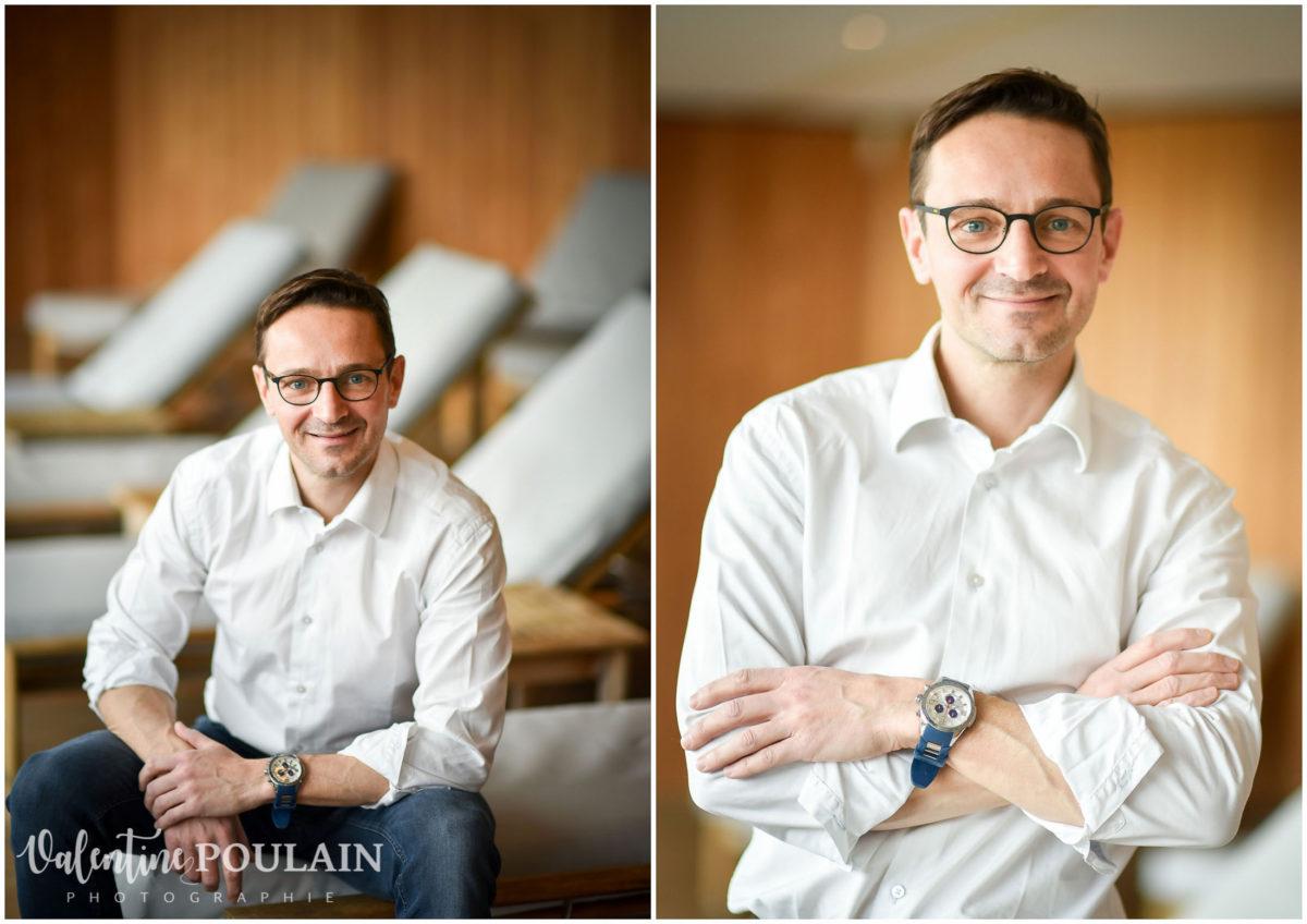 Portrait corporate sophrologue dynamique