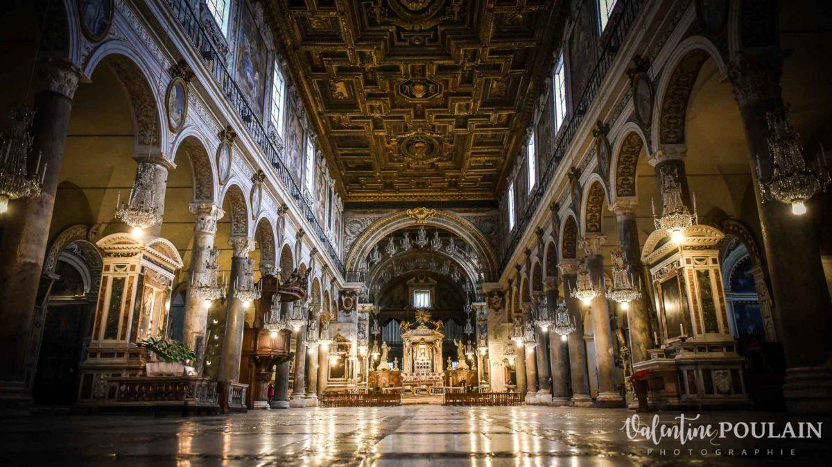 Rome Italie - Valentine Poulain église