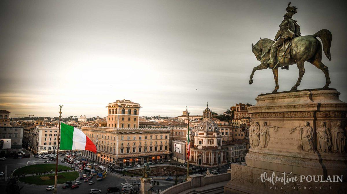 Rome Italie - Valentine Poulain piazza Campidoglio