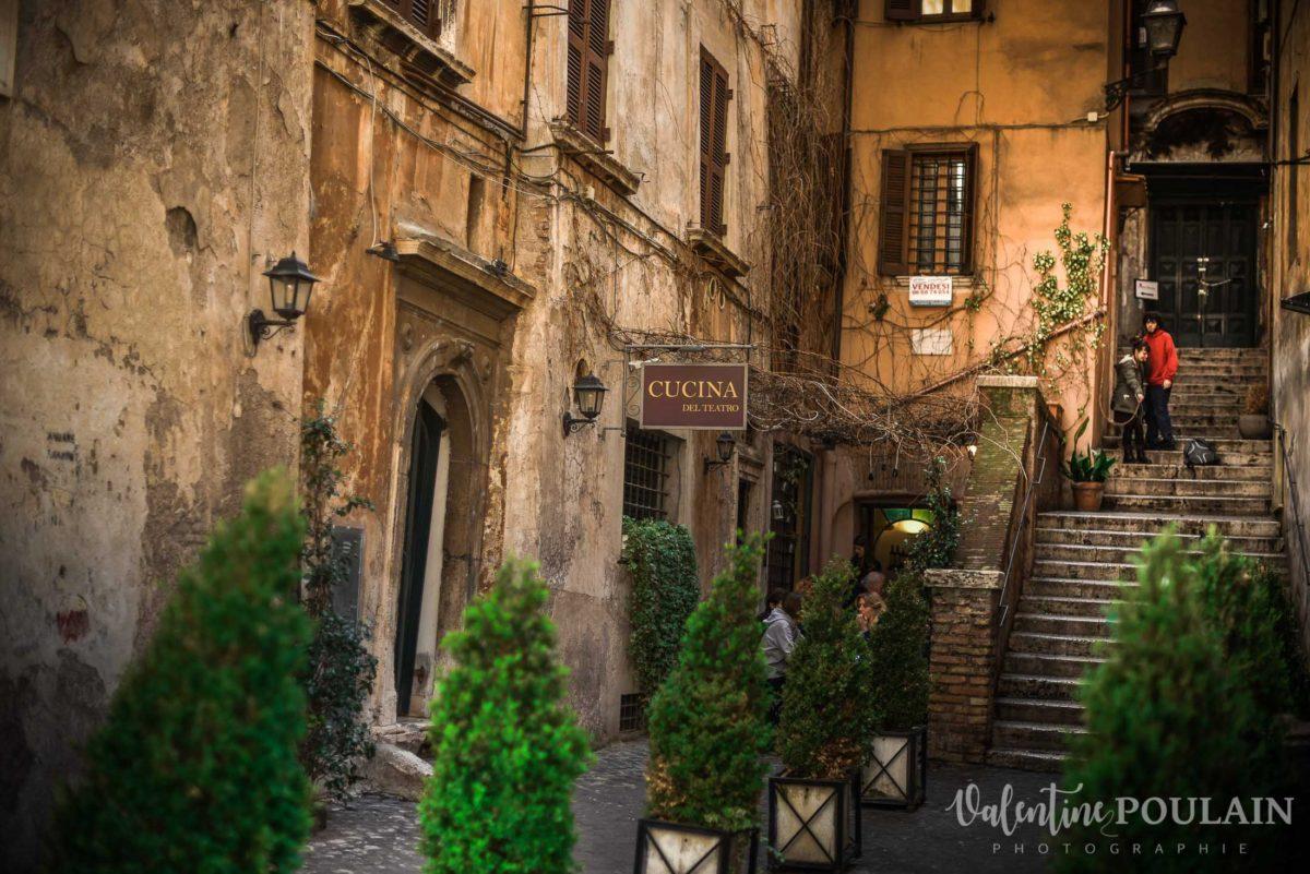 Rome Italie - Valentine Poulain rue
