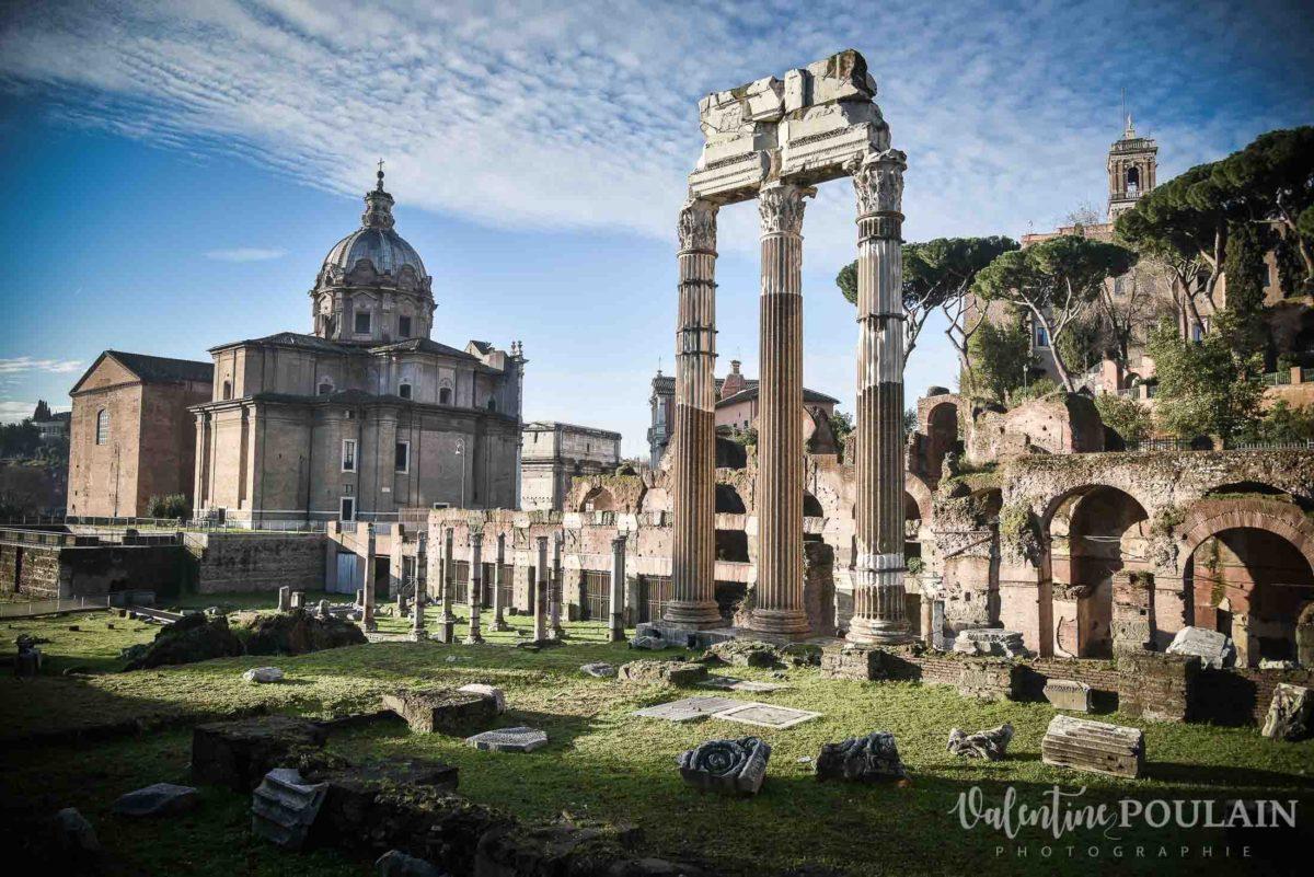 Rome Italie - Valentine Poulain ruines