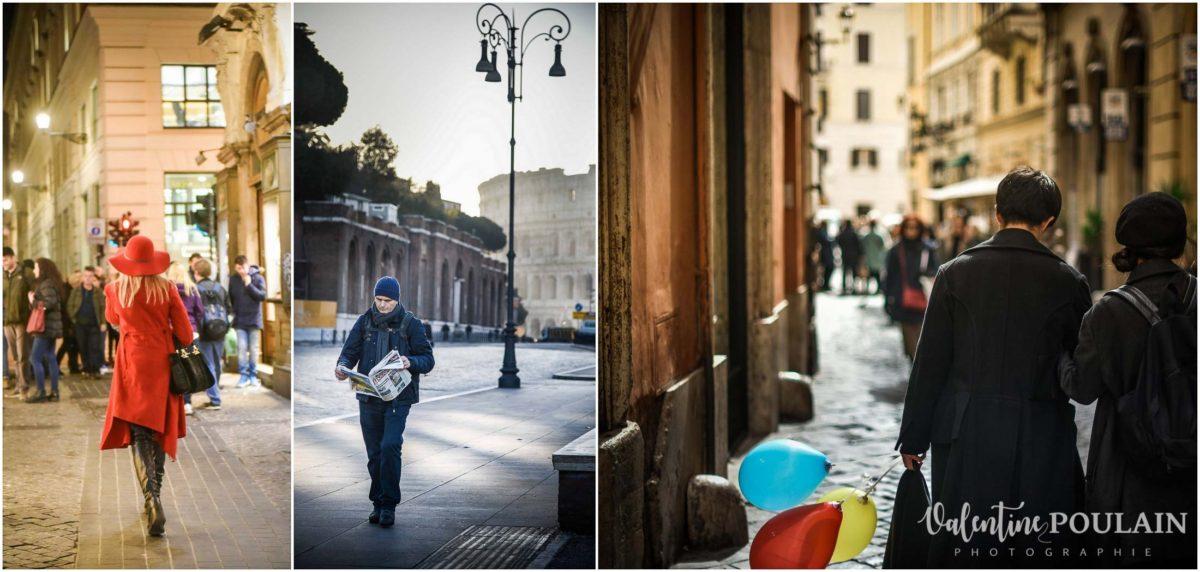 Rome Italie - Valentine Poulain street portraits