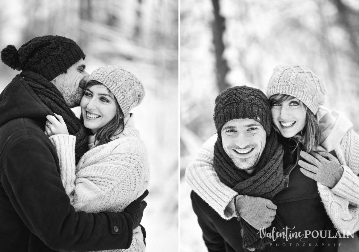 Shooting couple hivernal - Valentine Poulain eux
