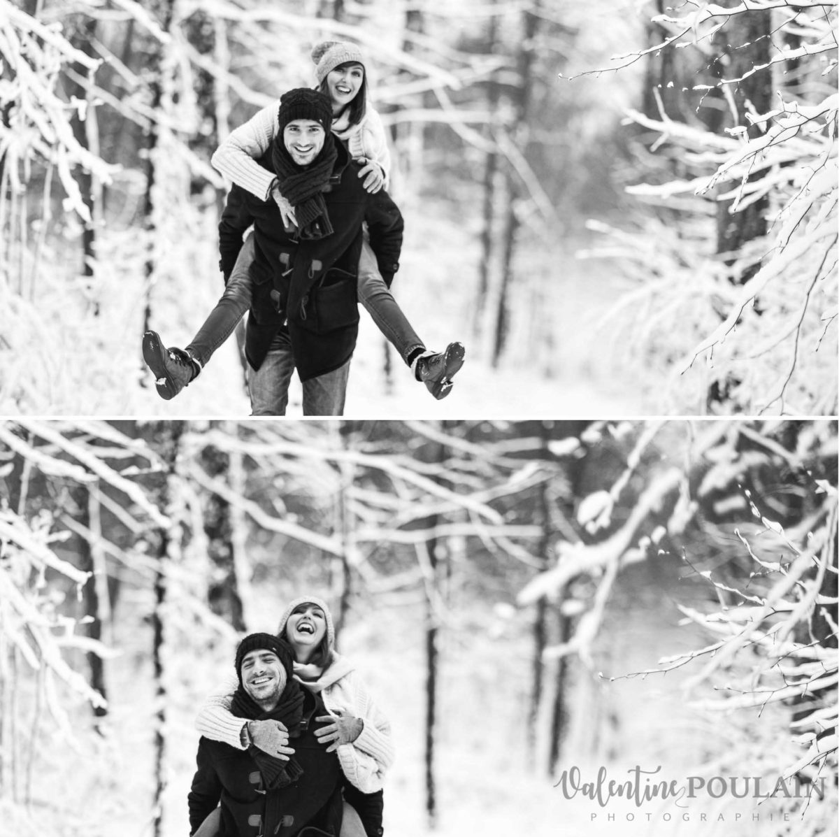 Shooting couple hivernal - Valentine Poulain mdr