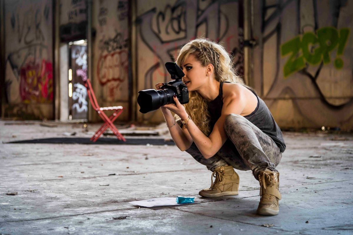 Making-of shooting yoga photographe