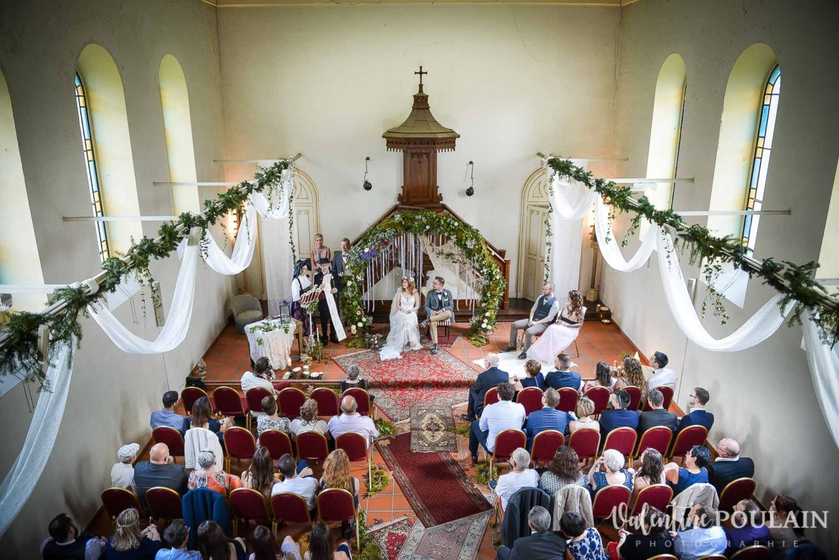 Mariage hippie chapelle Wesserling