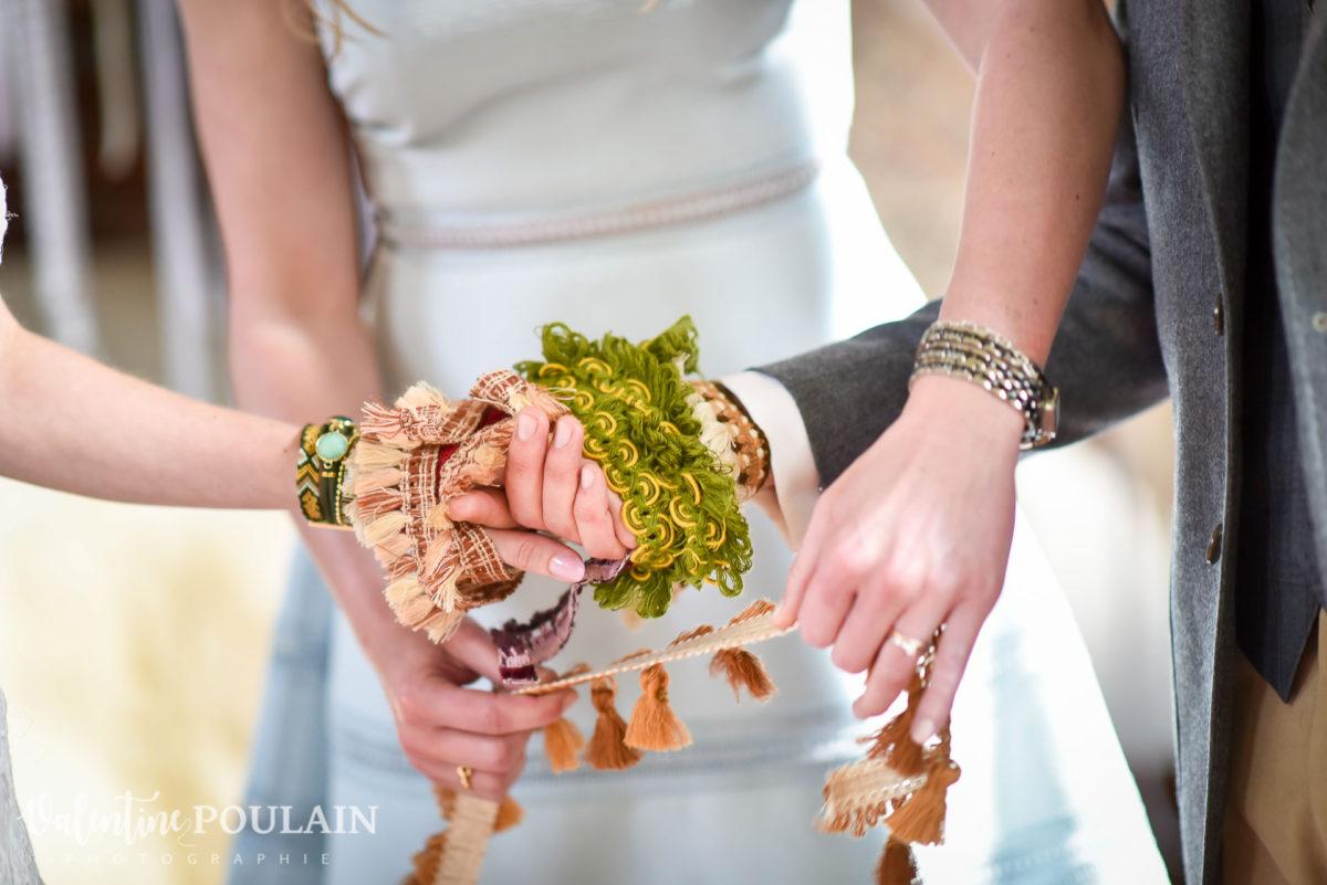 Mariage hippie funky - Valentine Poulain rituel