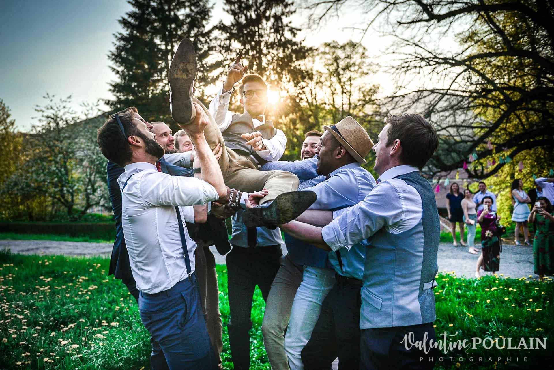 Mariage hippie funky - Valentine Poulain friends