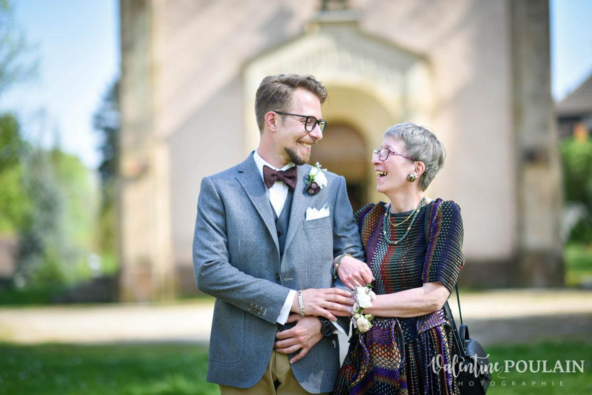 Mariage hippie funky - Valentine Poulain discours mère et fils
