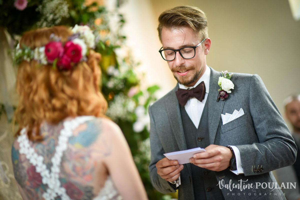 Mariage hippie funky - Valentine Poulain veux tu m'épouser ?