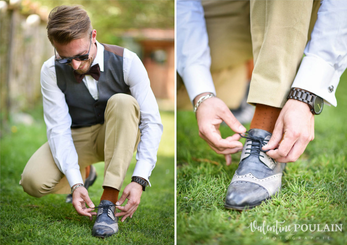 Mariage hippie funky - Valentine Poulain - chaussures