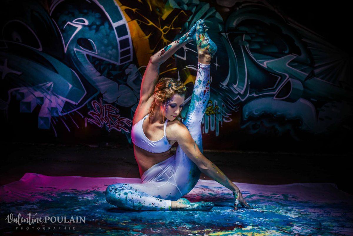 Shooting Yoga girl - Valentine Poulain pointes