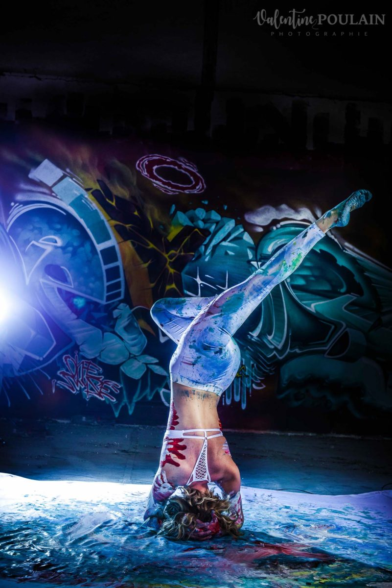 Shooting Yoga girl - Valentine Poulain poirier