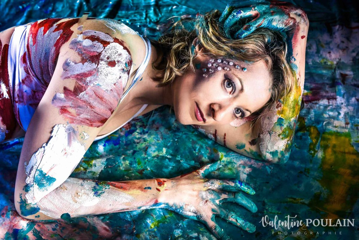 Shooting Yoga girl - Valentine Poulain regard