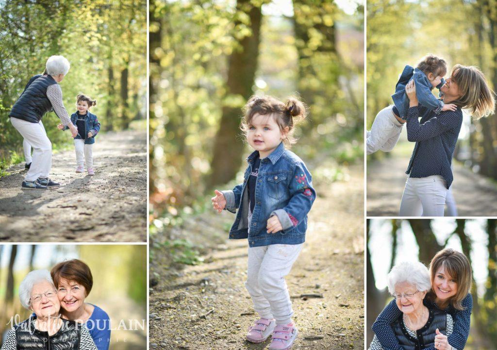Shooting famille 4 générations femmes zoé
