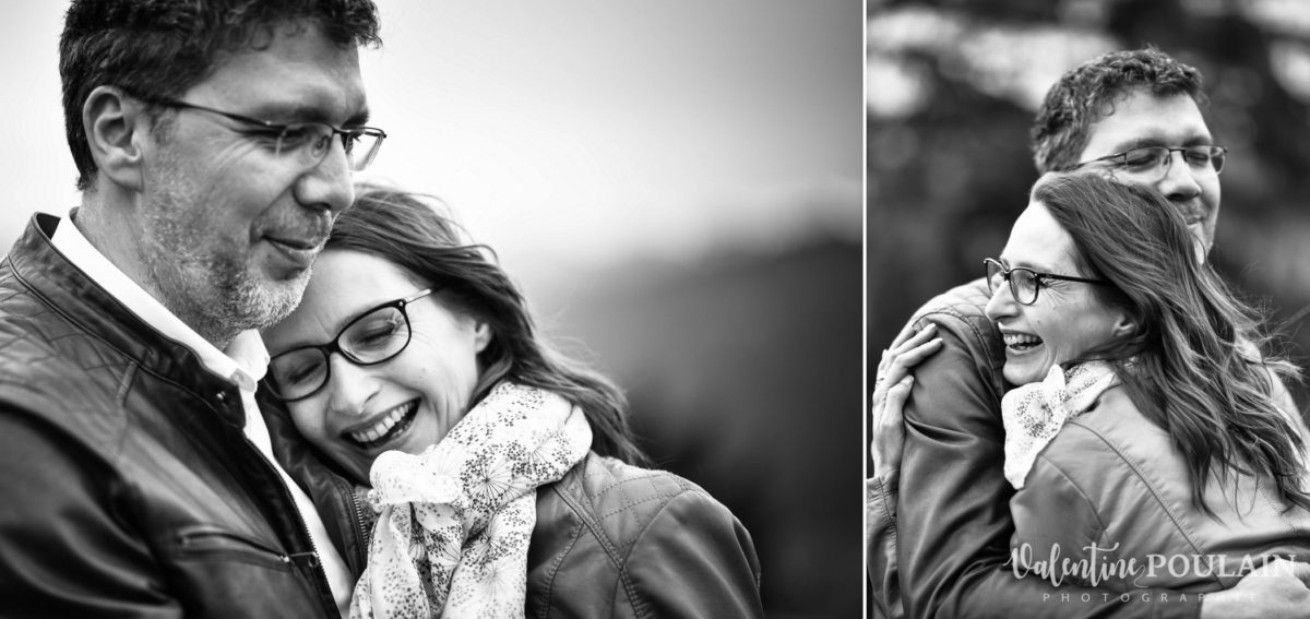 Shooting save the date montagne - Valentine Poulain complices