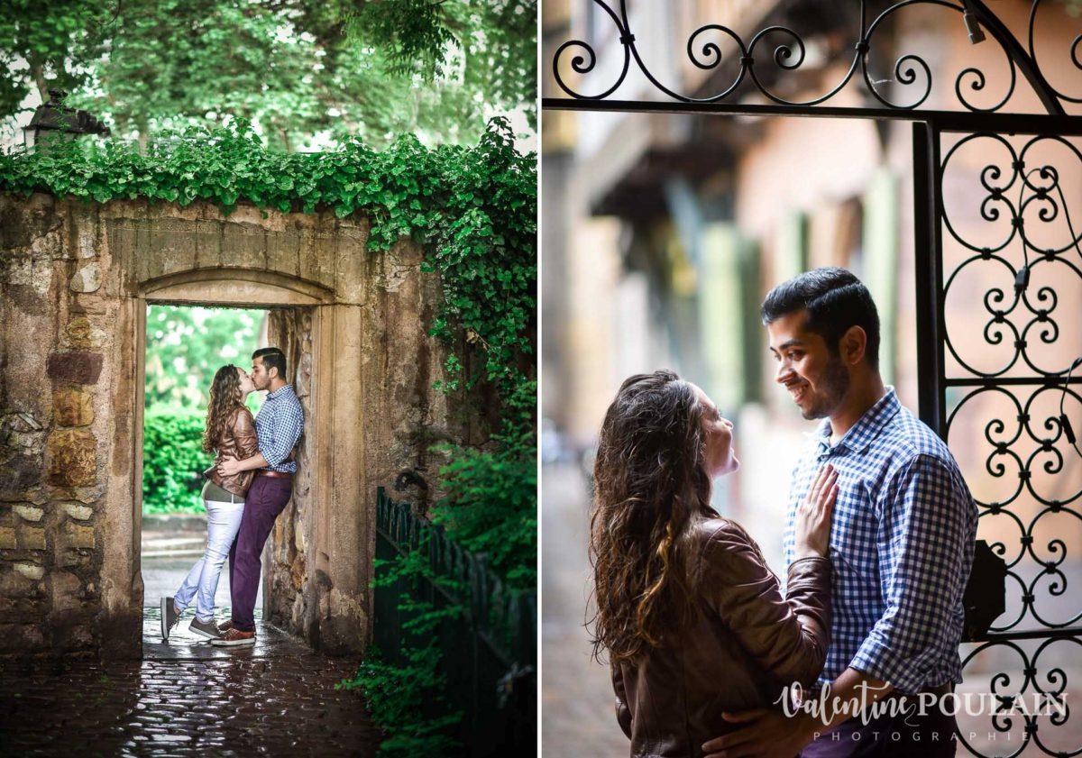 Couple pluie Colmar - Valentine Poulain