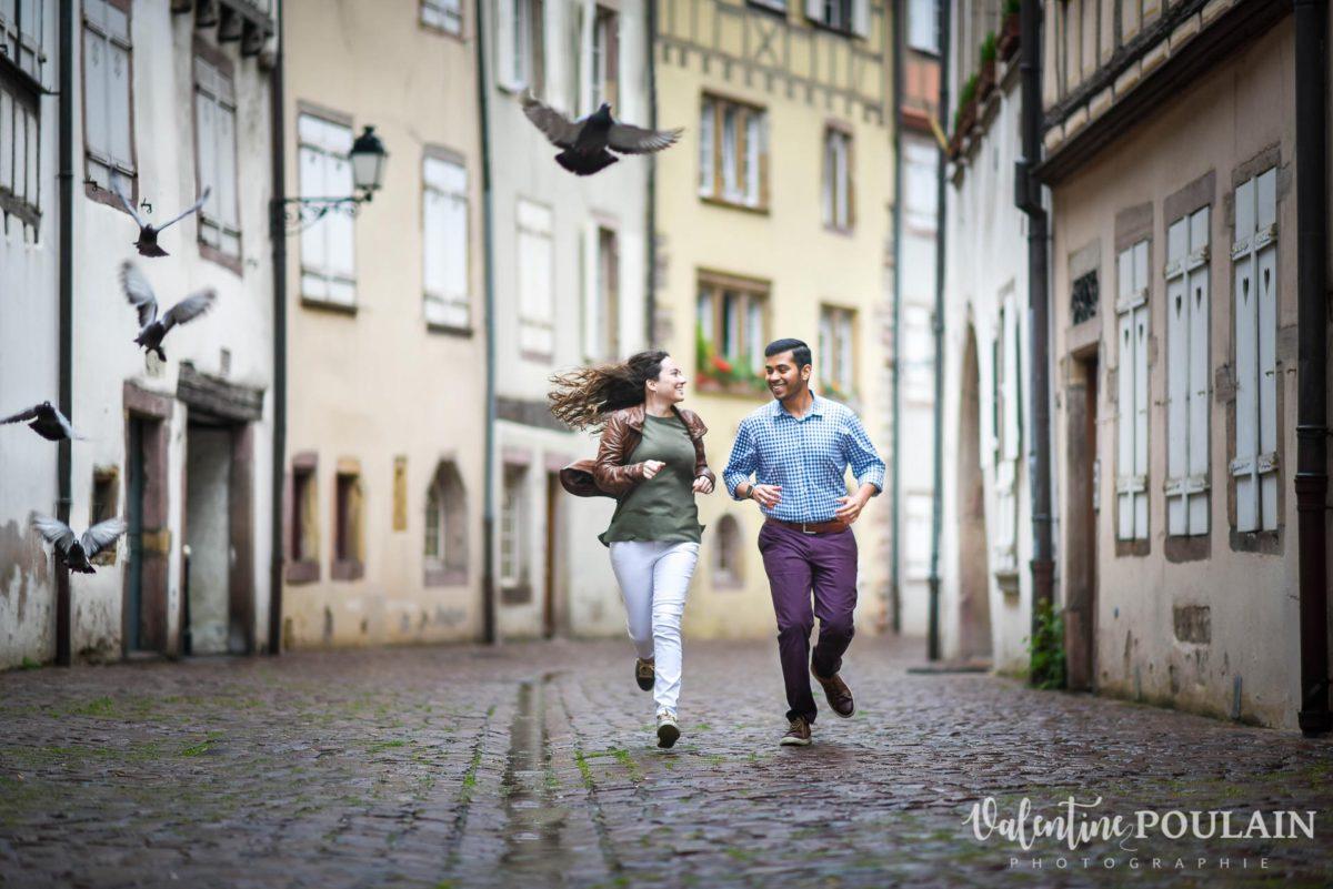 Demande mariage Colmar - Valentine Poulain courir