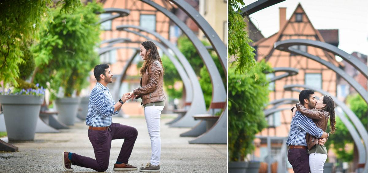 Demande mariage Colmar - Valentine Poulain propose