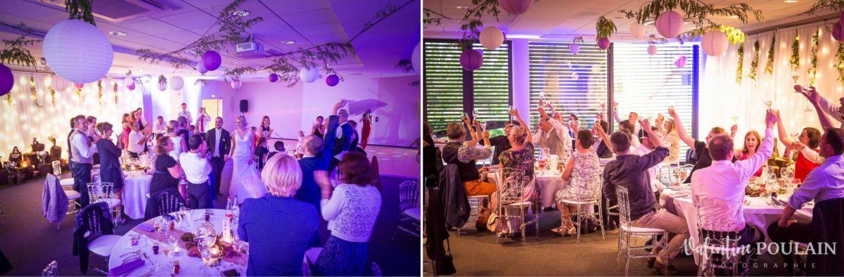 Mariage wedding planner Val-vignes repas